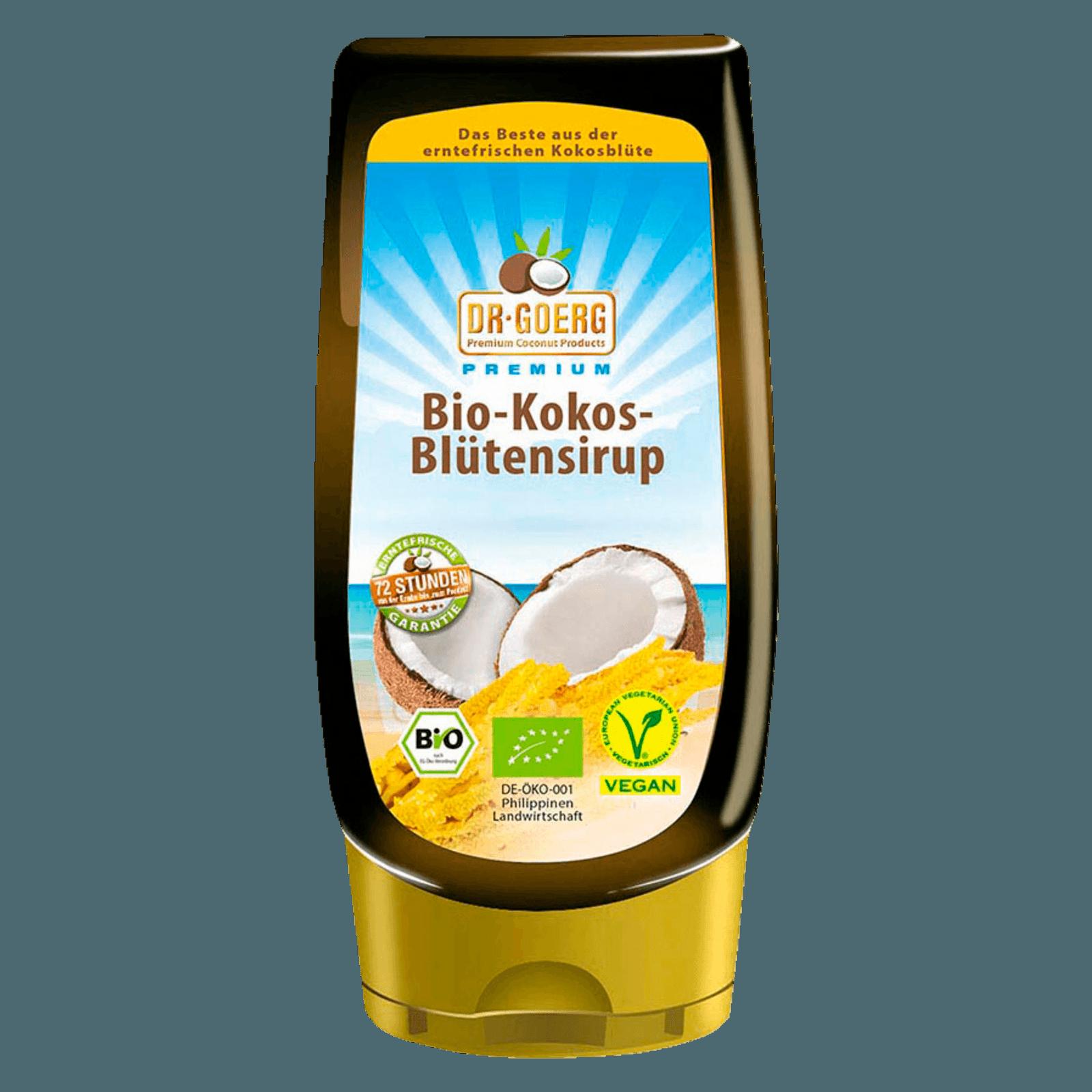 Dr. Goerg Premium Bio-Kokosblütensirup 250ml
