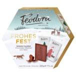 Feodora Frohe Weihnachten Täfelchen Vollmilch 225g