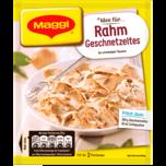 Maggi Fix für Rahm Geschnetzeltes - Mit Reis und Sahne in cremiger Soße Familie 42g