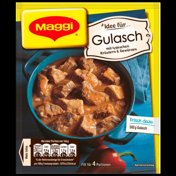 Maggi Fix für Gulasch 44g