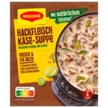 Maggi Fix für Hackfleisch-Käse–Suppe mit Lauch 46g