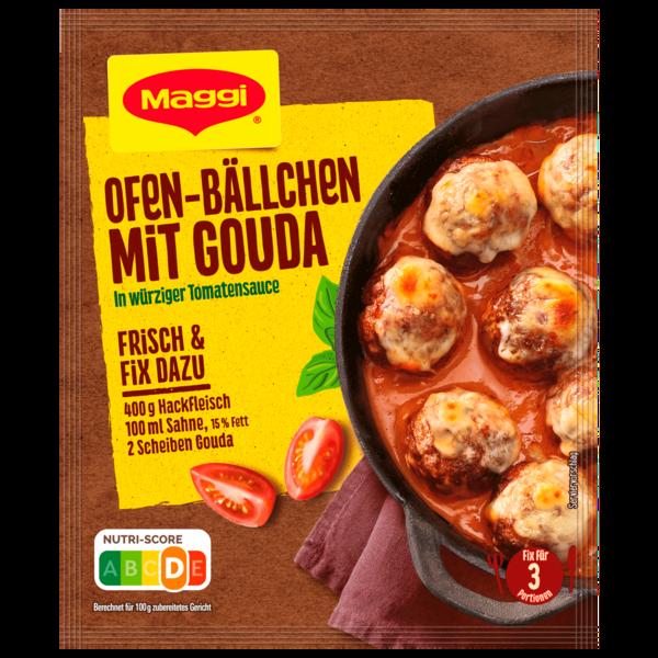 Maggi Fix für Ofen-Bällchen mit Gouda 43g