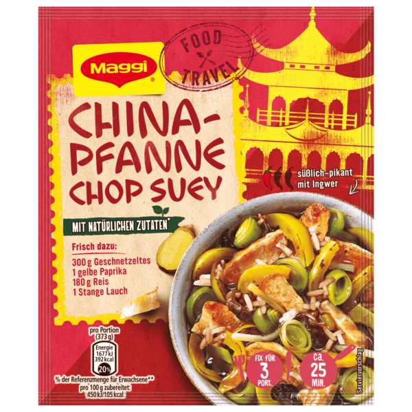 Maggi Fix für China-Pfanne Chop Suey 34g