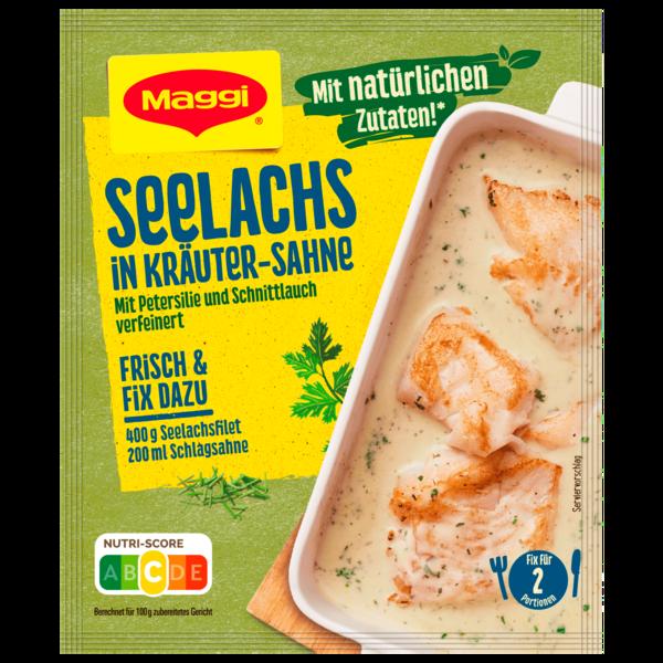 Maggi Fix für Seelachs in Kräuter-Sahne 33g
