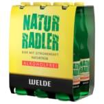 Welde Radler Natur alkoholfrei 6x0,33l
