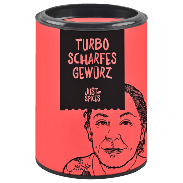 Just Spices Turbo Scharfes Gewürz 61g