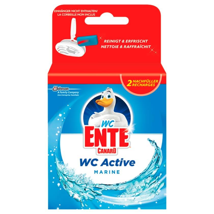 WC-Ente WC-Stein Nachfüller Active 3in1 Marine 2x40g