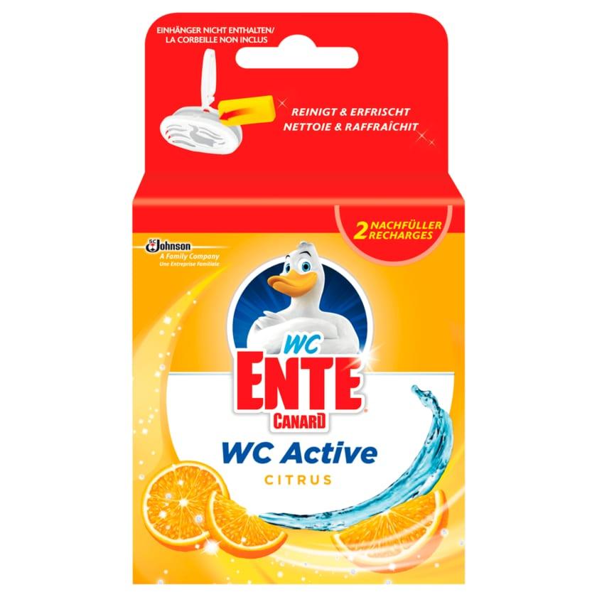 WC-Ente WC-Stein Nachfüller Active 3in1 Citrus 2x40g
