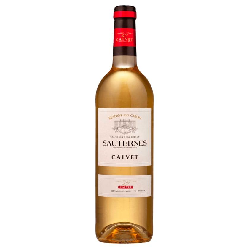Réserve du Ciron Weißwein Sauternes Calvet süß 0,5l