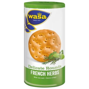 Wasa Knäckebrot Delicate Rounds French Herbs 250g