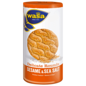 Wasa Knäckebrot Delicate Rounds Sesam & Meersalz 290g