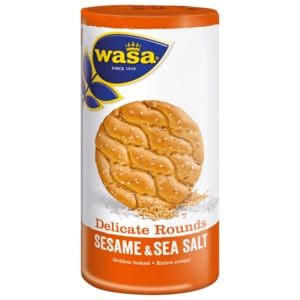 Wasa Knäckebrot Delicate Rounds Sesame & Sea Salt 290g