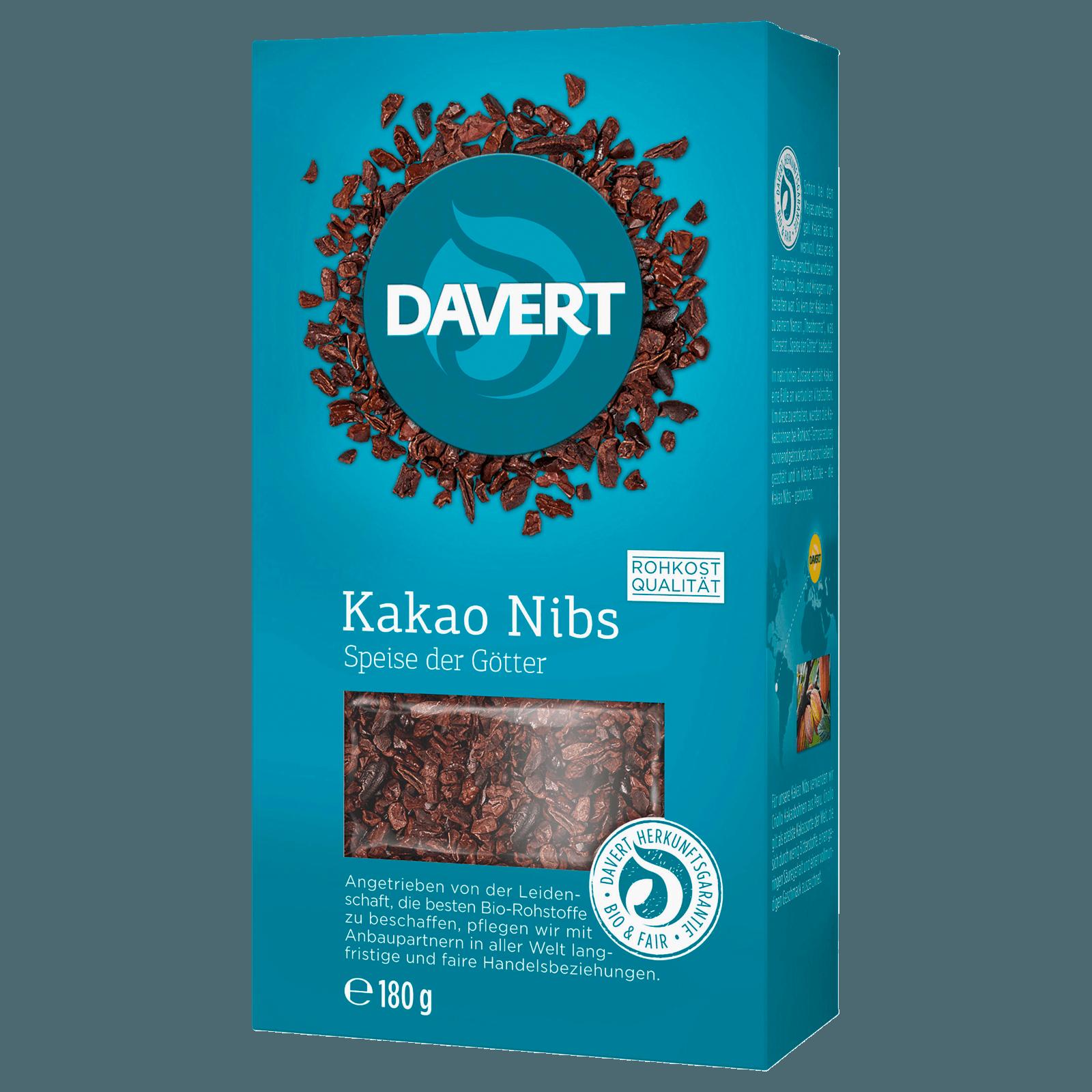 Davert Kakao Nibs 180g