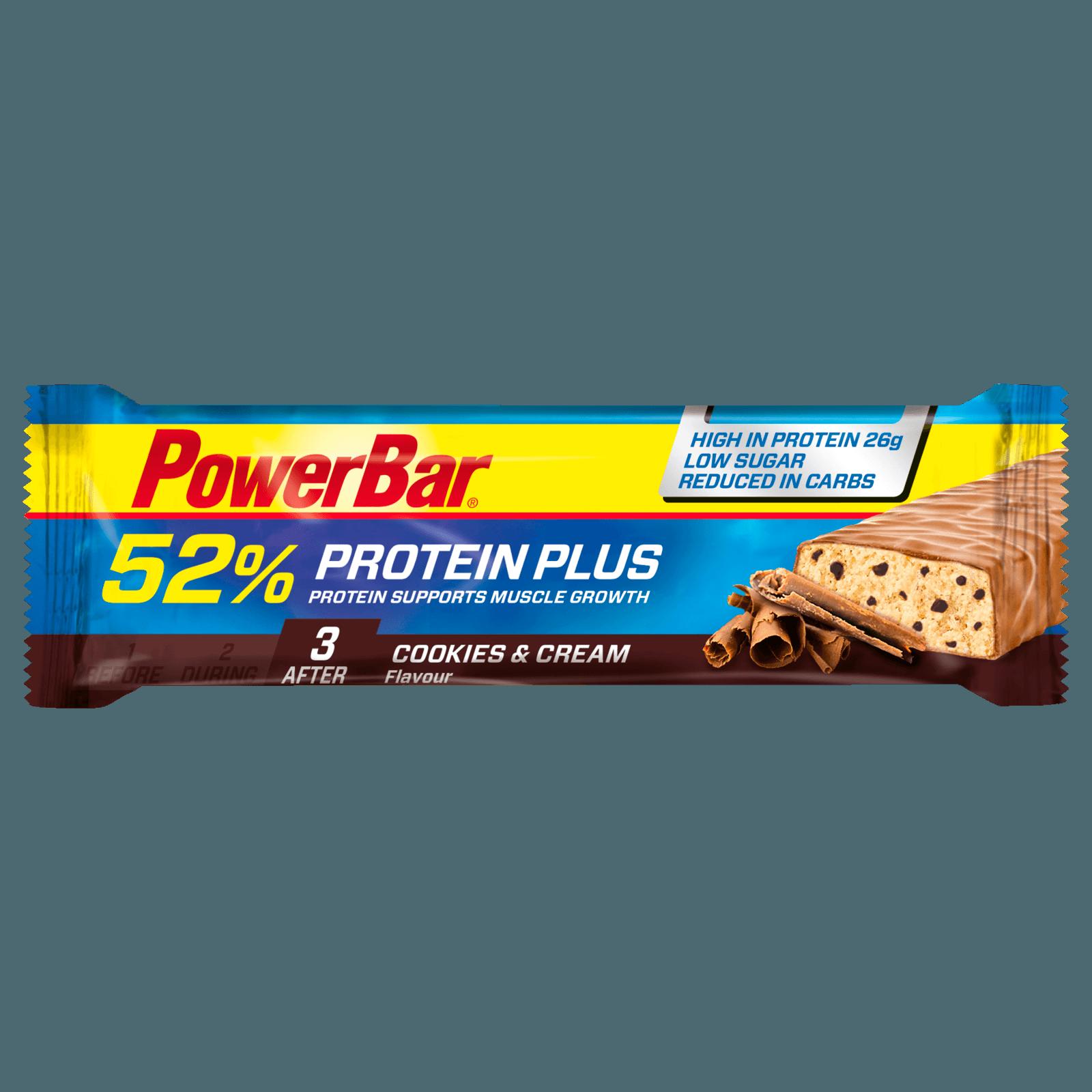 PowerBar 52% Protein Plus Cookies & Cream 50g