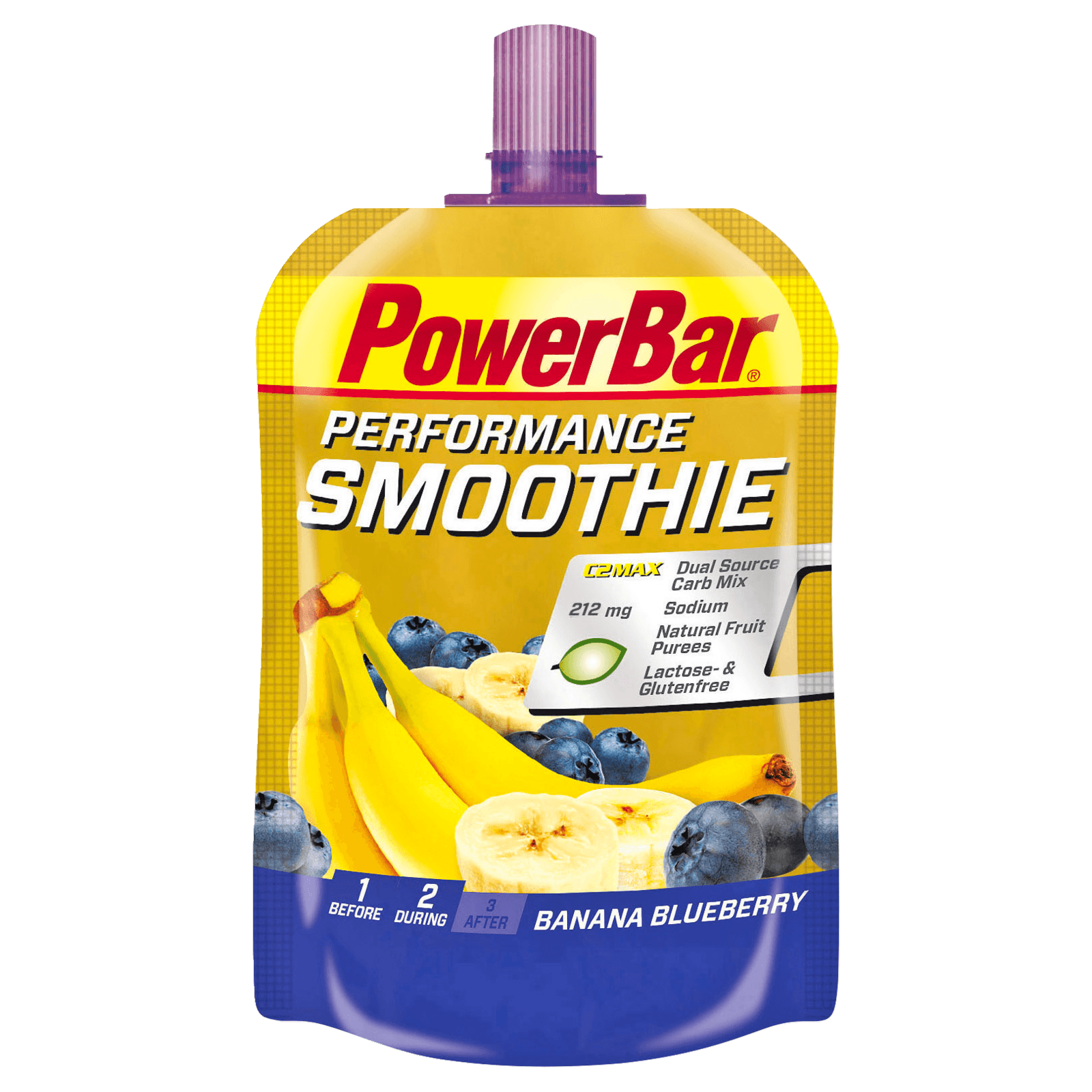 PowerBar Perfomance Smoothie Banana Blueberry 90g