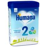 Humana Folgemilch 2 Beutel 700g