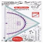 Herlitz my.pen Geometrie-Dreieck 16cm