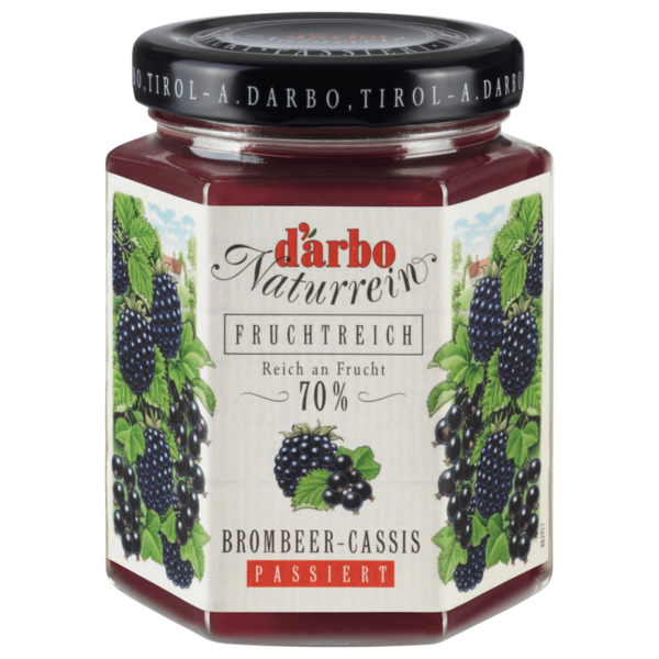 D'arbo Brombeer Cassis 200g