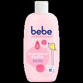Bebe Zartpflege Shampoo und Dusche 200ml
