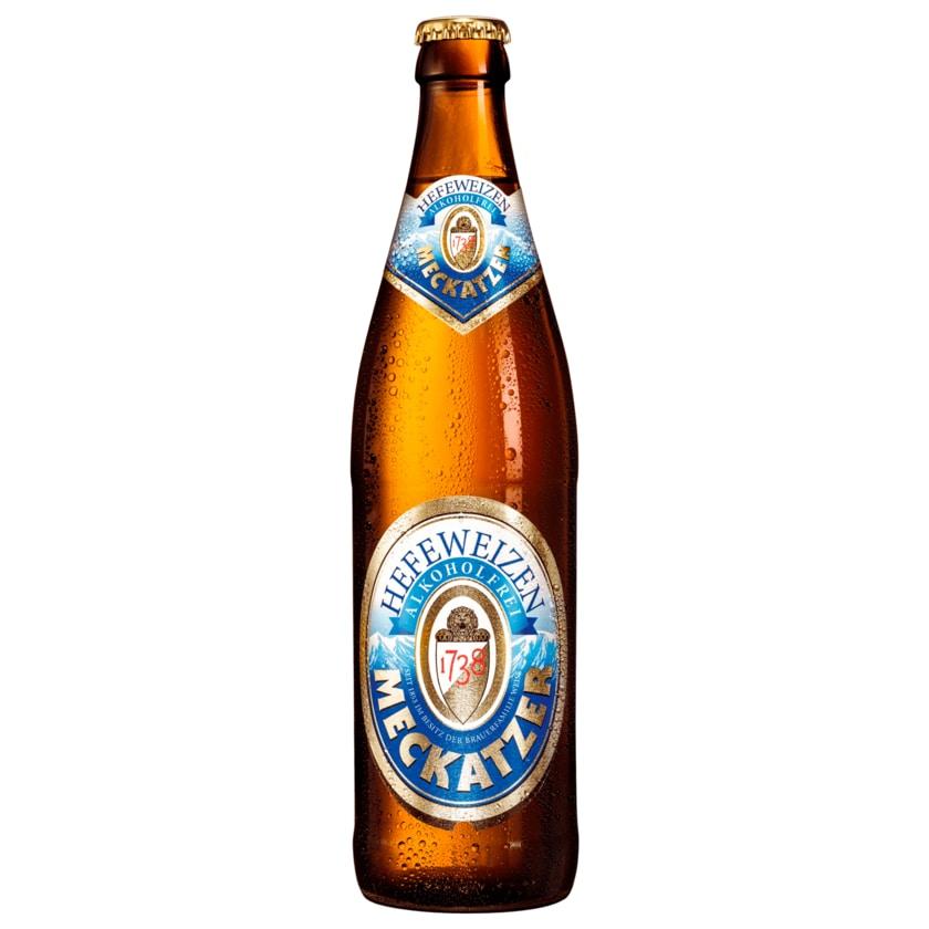 Meckatzer Hefeweizen alkoholfrei 0,5l