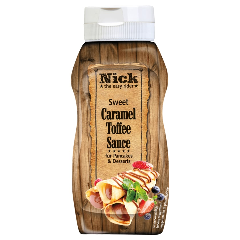 Nick Sweet Caramel Toffee Sauce 250g