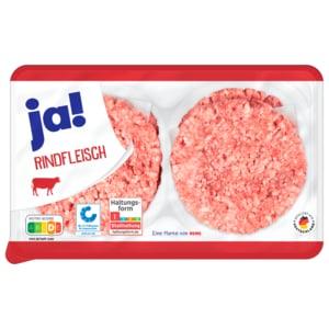 ja! Rinder-Hamburger 100g