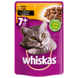 Whiskas Katzenfutter 7+ Huhn in Sauce 100g