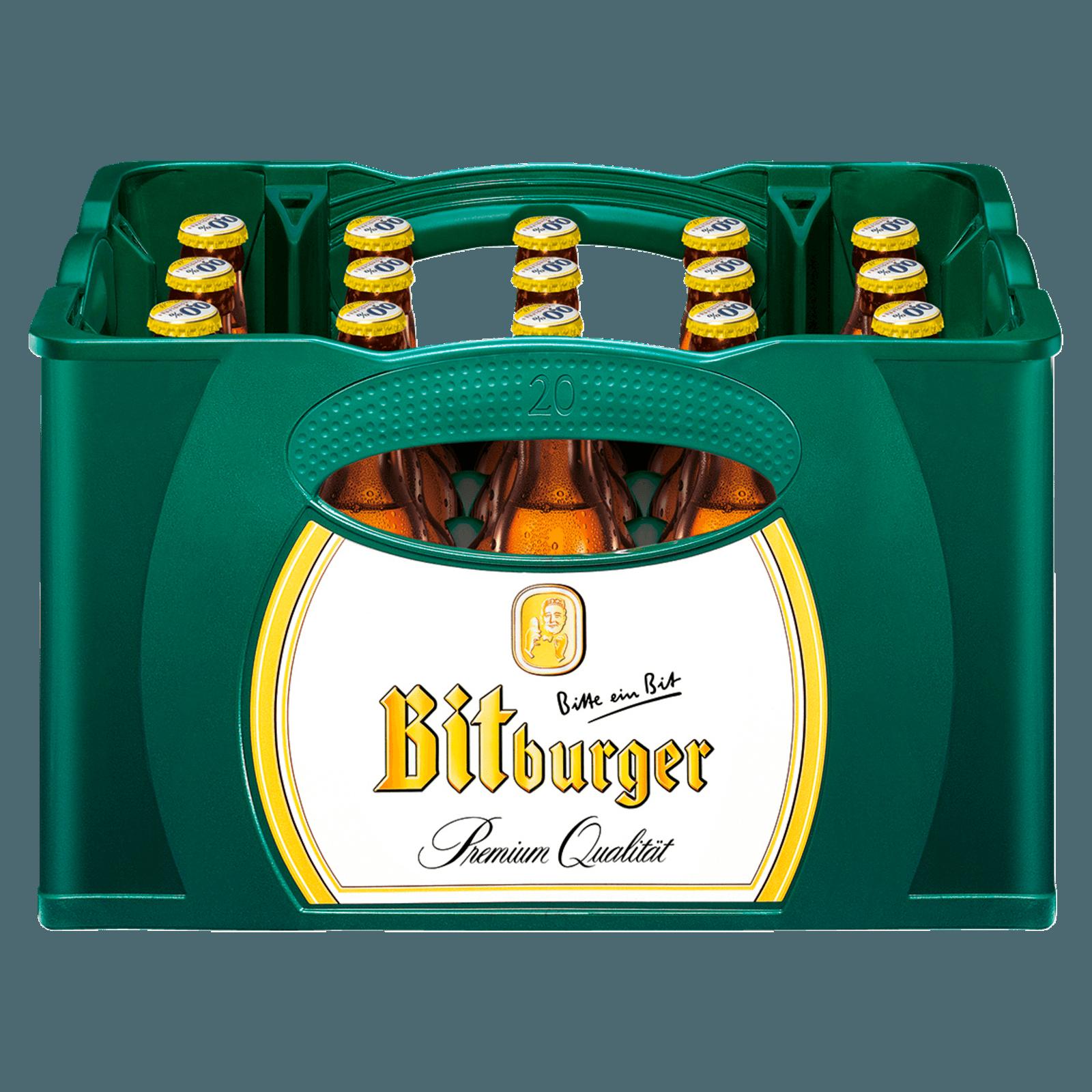 Bitburger Radler alkoholfrei 20x0,33l