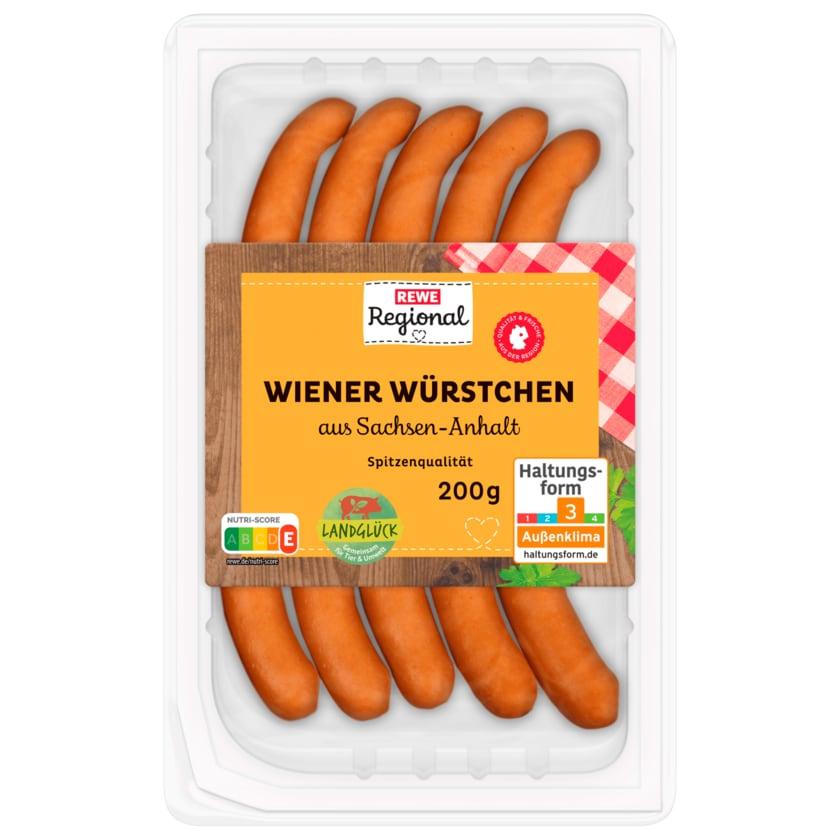 REWE Regional Wiener Würstchen 200g