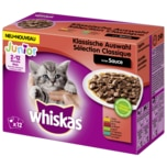 Whiskas Junior Klassische Auswahl in Sauce 12x100g