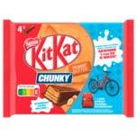 Nestlé Kitkat Chunky Peanut Butter Schokoriegel mit Erdnusscreme 4x42g