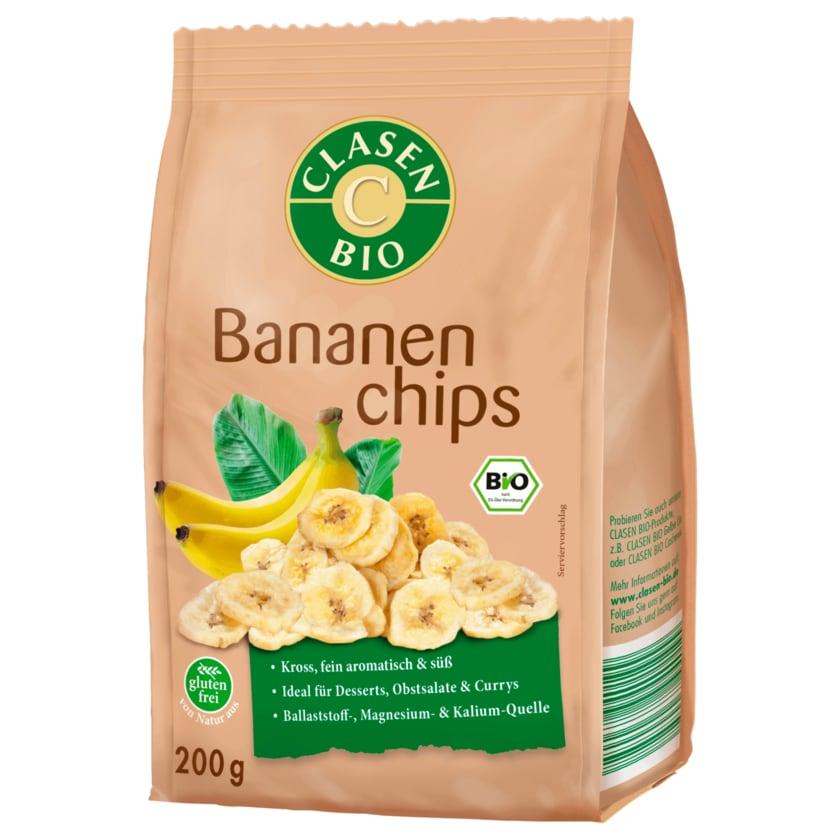 Clasen Bio Bananenchips 200g