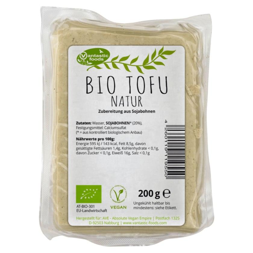 Vantastic foods Bio Tofu natur vegan 200g