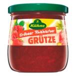 Kühne Grütze Erdbeer Rhabarber375g