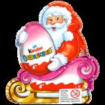 Kinder Weihnachtsmann mit Überraschung für Mädchen 75g