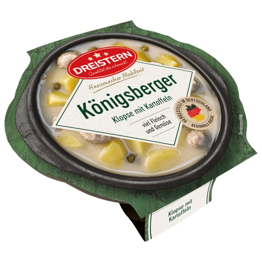 Dreistern Königsberger Klopse mit Kartoffeln 400g