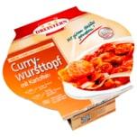 Dreistern Currywursttopf mit Kartoffeln 400g