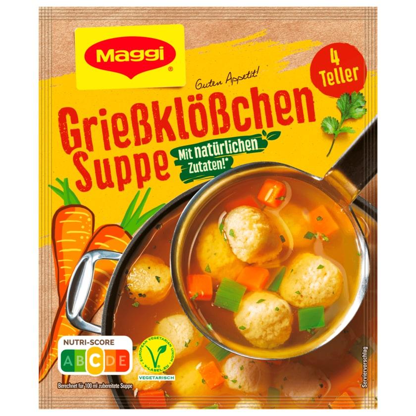 Maggi Guten Appetit Grießklößchen Suppe 50g