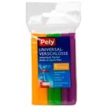 Pely Universal-Verschlüsse 6 Stück