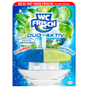 WC Frisch Duo-Aktiv Limette-Minze 50ml