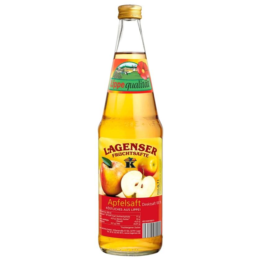 Lagenser Apfelsaft Klar 0,7l