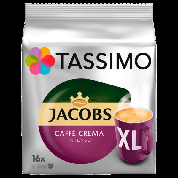 Tassimo Kaffeekapseln Jacobs Caffè Crema intenso 144g, 16 Kapseln