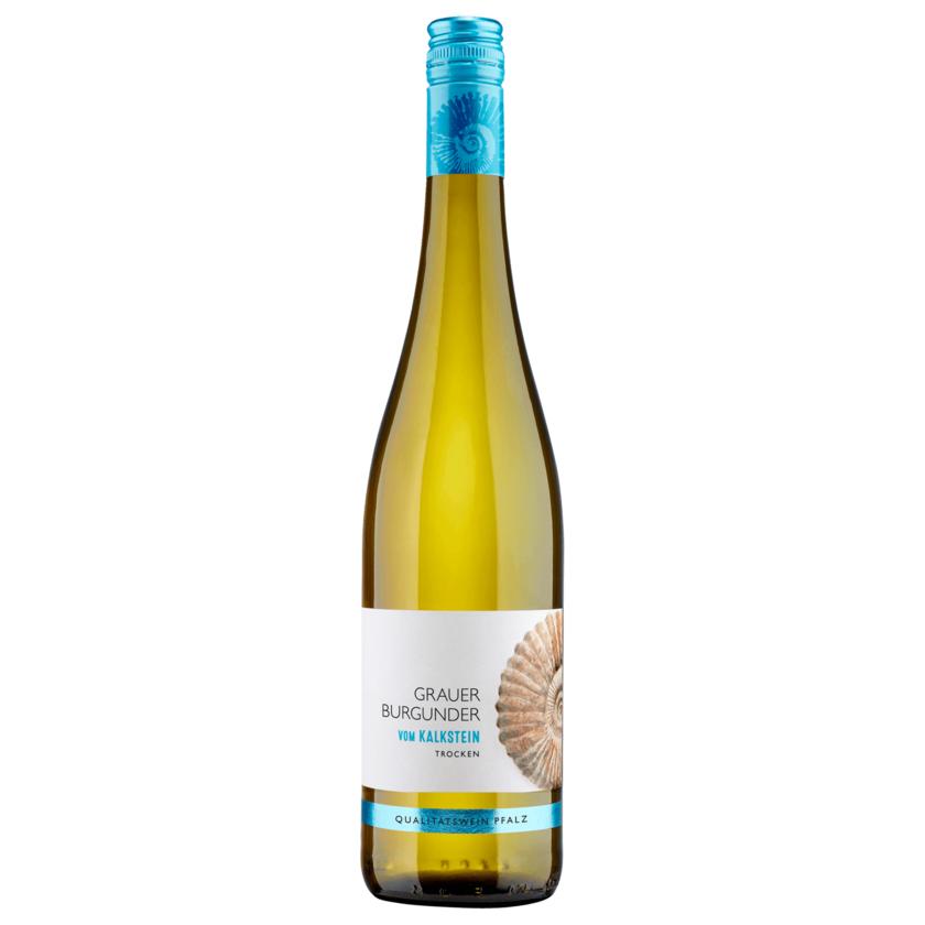 Grauburgunder Weißwein Kalkstein trocken 0,75l