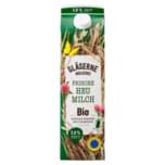 Gläserne Molkerei Bio-Heumilch 3,8% 1l