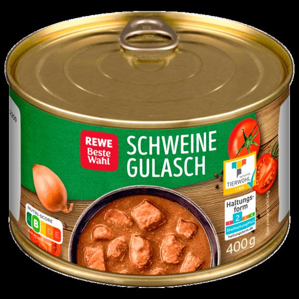 REWE Beste Wahl Schweinegulasch 400g