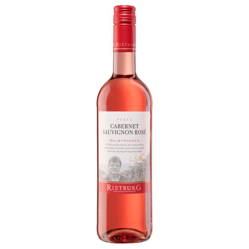Rietburg Winzer Rosé Cabernet Sauvignon QbA halbtrocken 0,75l