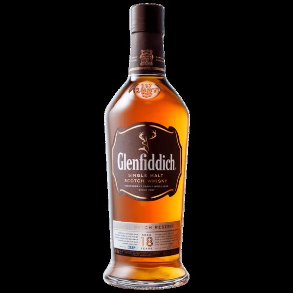 Glenfiddich Single Malt Scotch Whisky 18 Jahre 0,7l