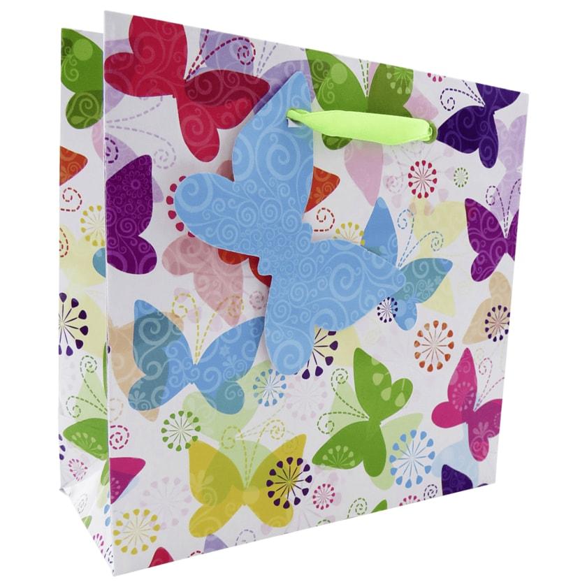 Vivess Geschenktüte Schmetterling 14,5x5x15cm