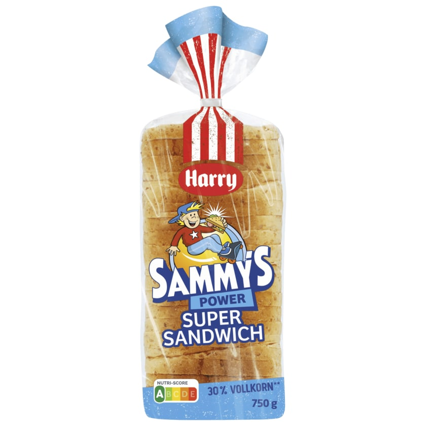 Harry Sammys Power Sandwich 750g