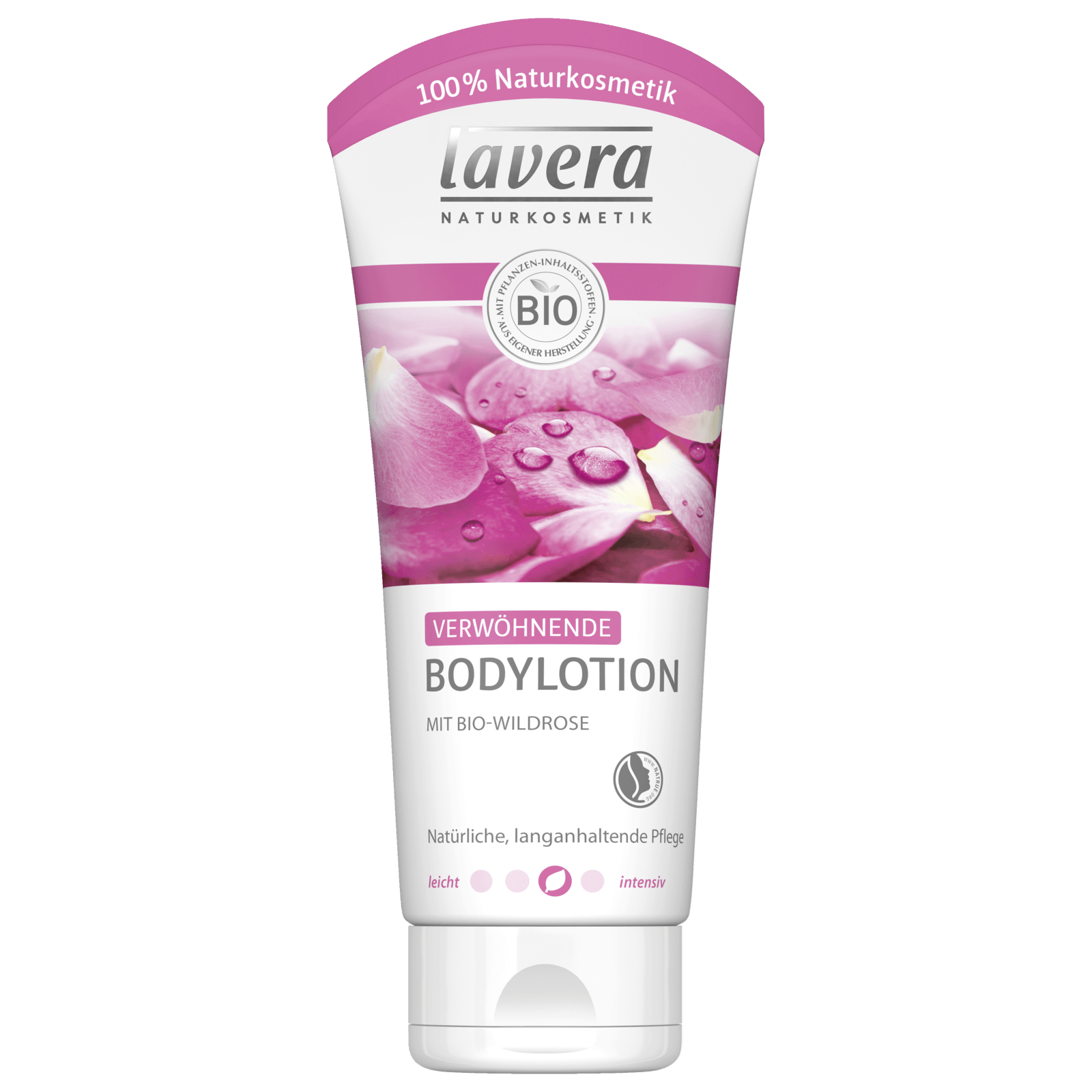 Lavera Bodylotion mit Bio-Wildrose 200ml